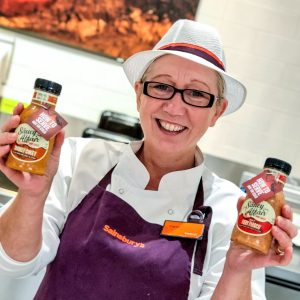 Saucy Affair labels launching at Sainsburys