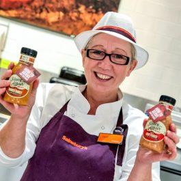 Saucy Affair labels launching at Sainsburys
