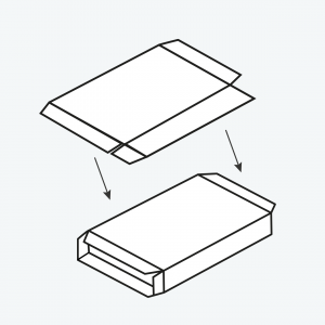 Packaging-Machine Erect Cartonboard Skillet Pack